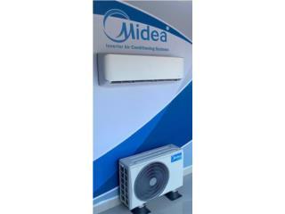 MIDEA INVERTER 18Kbtu/21seer $895 Instalado, Christian Electric Sales Puerto Rico