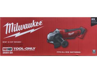 Disc grinder Milwaukee (tool only), LA FAMILIA MANATI  Puerto Rico