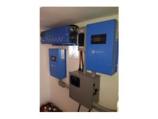 Sistema solar con inversor 3k a 6k en pico , PowerComm, Inc 7878983434 Puerto Rico