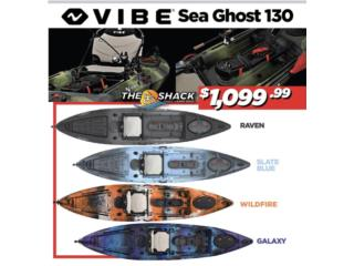 Vibe Sea Ghost 130, The SUP shack  Puerto Rico