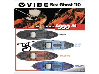 Vibe Sea Ghost 110, The SUP shack  Puerto Rico