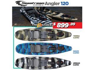 Seastream Angler 120, The SUP shack  Puerto Rico