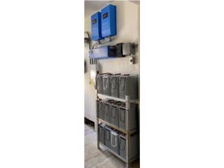 Kit De Equipos Para Sistema Solar , PowerComm, Inc 7878983434 Puerto Rico