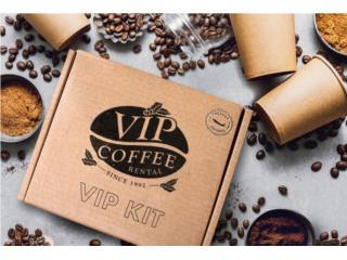 VIP Coffee Kit / Cafe para Oficinas , VIP COFFEE RENTAL Puerto Rico