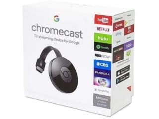 CHROMECAST TV STREAMING DEVICE BY GOOGLE, MEGA CELLULARS INC. Puerto Rico
