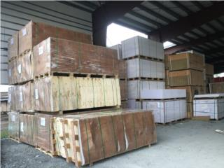Panel PVC Densidad 0.55 4x8 Blanco y Calidad, MADECO Puerto Rico