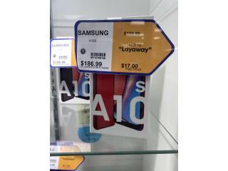 Samsung celular A10s, La Familia Casa de Empeño y Joyería-Bayamón Puerto Rico