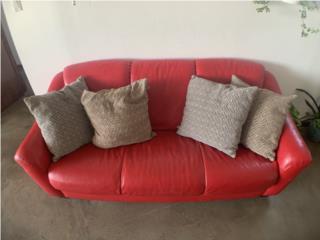 Sofa Rojo en vinil, CashEx Puerto Rico