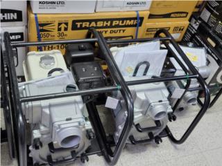 BOMBAS DE AGUA TRASH 2'' Y 3'', Reliable Equipment Corp. Puerto Rico
