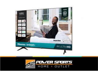 TV HISENSE 43' ANDROID CLASS, Power Sports Home + Outlet Puerto Rico