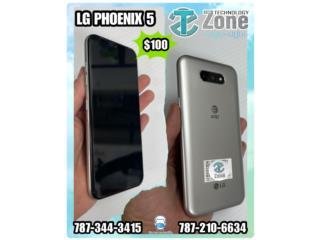 LG PHOENIX 5 NUEVO Y DESBLOQUEADO , The Technology Zone Puerto Rico