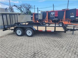 TRAILER 6x16 MULTIUSOS, Reliable Equipment Corp. Puerto Rico