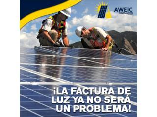 Sistema Solar - Medicion Neta Sin Baterias, AWEIC INNOVATION Puerto Rico