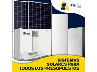 Sistema Solar - Medicion Neta Con Baterias, AWEIC INNOVATION Puerto Rico