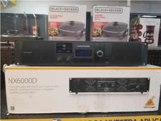 Amplificador Behringer 6000 watts, La Familia Casa de Empeño y Joyería-Mayagüez 1 Puerto Rico