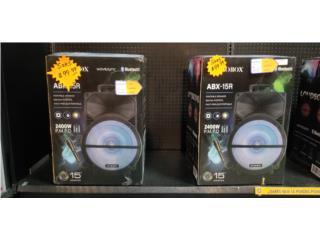 Bocinas Portable Audiobox 15