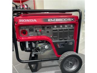 Generador Honda - 6500 Watts, Planet Honda GENERADORES Puerto Rico