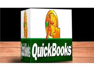 QUICKBOOKS ((( TODO PARA CONTABILIDAD ))), @ USUARIO PREMIUM 100 % Puerto Rico