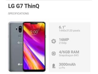 LG G7 THINQ 64GB Desbloqueado $200, PHONE TECHNO PR Puerto Rico