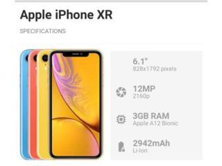 IPhone xr 64GB Desbloqueado, PHONE TECHNO PR Puerto Rico