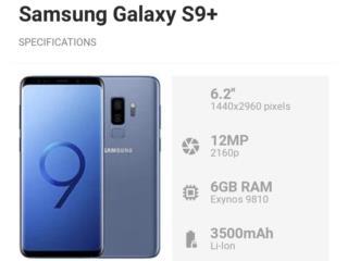 Samsung Galaxy S9 Plus 64GB Desbloqueado NEW , PHONE TECHNO PR Puerto Rico