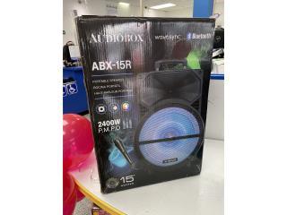 AudioBox bocina 2400watts, La Familia Casa de Empeño y Joyería-Bayamón Puerto Rico