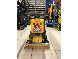 Plate Compactor Wacker Neuson VP1550AW, DE DIEGO RENTAL Puerto Rico