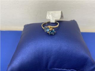 sortija piedras azules 14 kt, La Familia Casa de Empeño y Joyería-San Juan 2 Puerto Rico