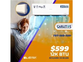 Airmax inverter 20 seer wifi, carlitosairconditioning Puerto Rico