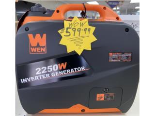 Planta electrica inverter Wen 2250 watts, LA FAMILIA MANATI  Puerto Rico