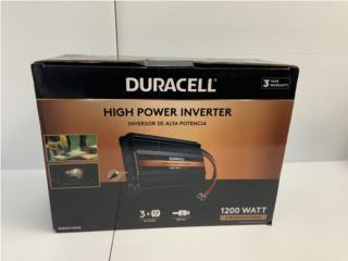 Duracell High Power Inverter 1200watts, La Familia Casa de Empeño y Joyería-Guaynabo Puerto Rico