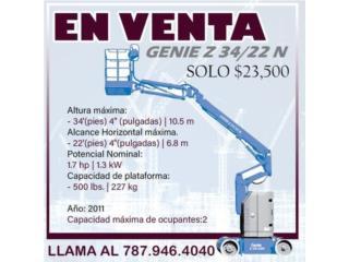 GENIE Z 34/22 N - EXCELENTES CONDICIONES, Gondolas PR Puerto Rico