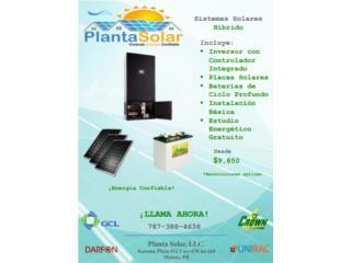 Sistemas Hibridos, Planta Solar 7873884636 Puerto Rico