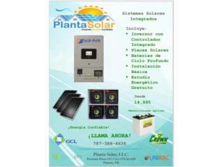Inversor Solark, baterias y paneles solares , Planta Solar 7873884636 Puerto Rico
