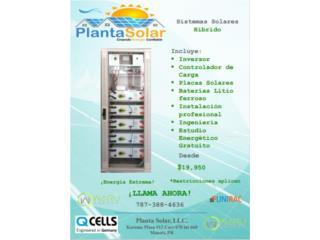 Sistemas Solares integrados, Planta Solar 7873884636 Puerto Rico