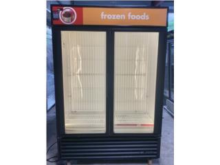 Freezer True 2 puertas cristal, KC WAREHOUSE Puerto Rico