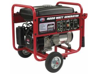 Generador All Power 4000w.  Hecho en USA, MOTORES Y EQUIPOS Puerto Rico