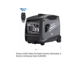 Pulsar generador inverter 4500watts, WAREHOUSE SUPPLY AND MORE Puerto Rico