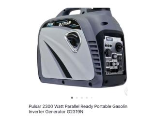 Pulsar generador inverter 2300 watts, WAREHOUSE SUPPLY AND MORE Puerto Rico