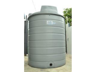 Cisterna 2,000 galones, modelo WT2000, Puerto Rico Water Puerto Rico
