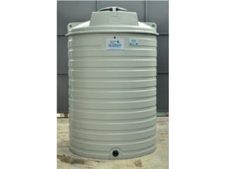 Cisterna 800 galones, modelo WT800, Puerto Rico Water Puerto Rico