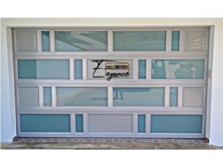 PUERTAS DE GARAJE 2021 EN ALUMINIO, Elegance Garage Door's y Mas. Puerto Rico