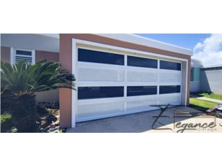 PUERTAS DE GARAJE MARQUESINA DOBLE0, Elegance Garage Door's y Mas. Puerto Rico