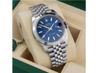Rolex Datejust 41 Blue, CHRONO - SHOP Puerto Rico