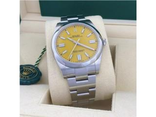 Rolex Oyster Perpetual 41mm Yellow, CHRONO - SHOP Puerto Rico