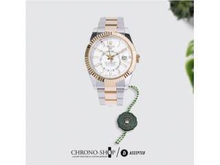 Rolex Skydweller Two Tones White dial, CHRONO - SHOP Puerto Rico