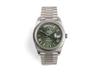 Rolex Day-Date Presidential 40 Green / W Gold, CHRONO - SHOP Puerto Rico
