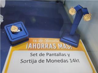 Pantallas y sortija 14k, La Familia Casa de Empeño y Joyería, Ave. Barbosa Puerto Rico