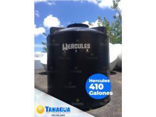 CISTERNA 410 GALONES, MARCA HERCULES, #1 Agua Tanagua Puerto Rico
