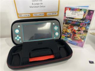 Nintendo switch lite con juego de mario kart8, La Familia Casa de Empeño y Joyería-Bayamón Puerto Rico